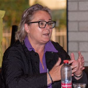 Wendy Hartmann geeft een toelichting over Sociale Zaken
