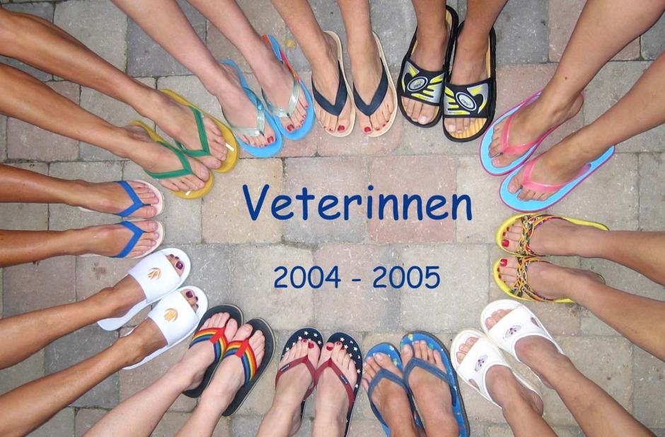 Veterinnen voeten cirkel gemaakt voor de doucheruimte van het nieuwe clubhuis