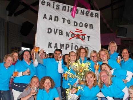 15 mei 2011 Zondag Veterinnen B worden kampioen