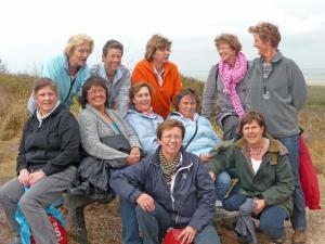 Veterinnen op weekend in Meijendel 10 oktober 2009