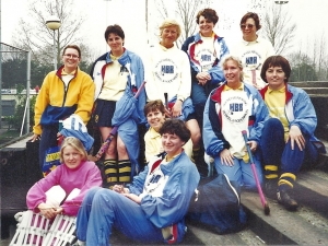 Einde seizoen 1991-1992
