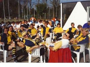 WUT toernooi, Roomburg, Leiden 22 sep.1998 Gewonnen!