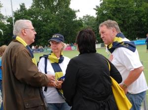 Met oude vriend en clublid van het eerste uur Erik Bakx (2011)