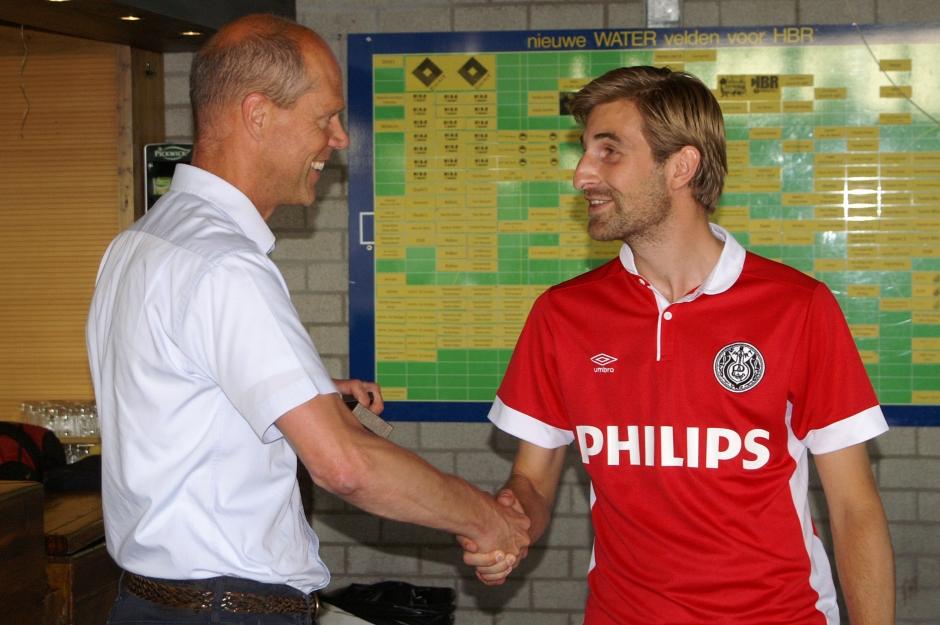 Stefan van der Ree nieuw Lid van Verdienste