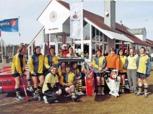 2006 - met de Veterinnen bij het WUT  in Vught