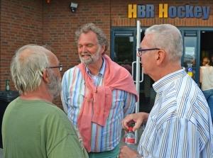 """2014 met Ruud en Ben de Koning bij het """"Hockeyhouse"""""""