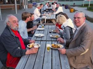 2010 - Met Ruud van Bunderen bij de Vrijwilligersavond