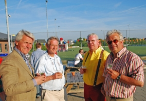 2010 met Jörg Plönissen, Jacques Thoen en Freek van Steenhoven