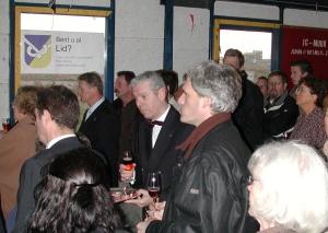 2005 bijeenkomst t.g.v. leggen 1e steen nieuwe clubhuis