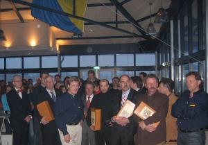 2005 - Erik bij de opening van het nieuwe clubhuis