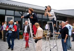 2006 - Erik bij het tekenen van het ABN AMRO sponsorcontract