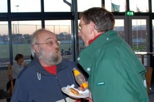 2006: in debat met de Heren 1 coach