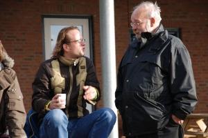 2007: Ruud bespreekt de wedstrijd met Paul Kooiker