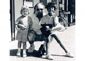 Ruud met zijn dochter Simone en zoon Edgar