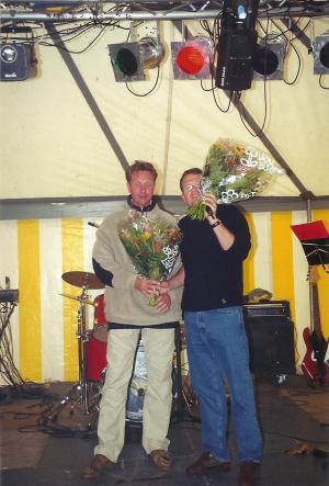 2000: bloemen voor Ben