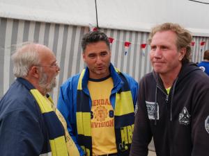 Met Frans en ook helaas overleden H1 watcher Ruud van Bunderen