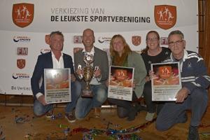27 oktober 2014 - HBR uitgeroepen tot De Leukste Sportvereniging van Nederland