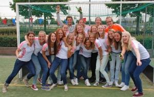 Juni 2013 - Dames 1 promoveert naar 2e klasse
