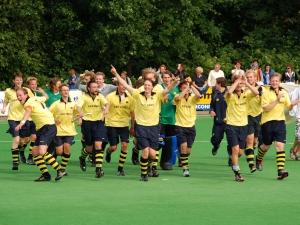 juni 2011 - Heren 1 dwingt in play-offs promotie naar de 2e klasse af
