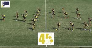 jeugdleden maken 45 in ons lustrumseizoen bij opening 5e veld