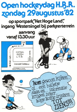 HBR promotie flyer 1982
