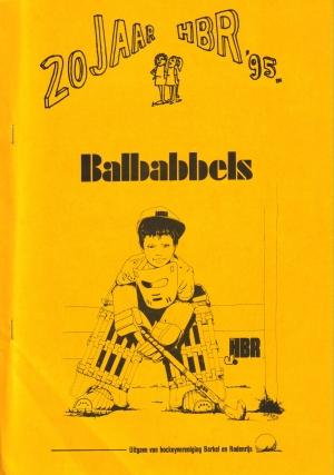Speciale Lustrumuitgave van de Balbabbels tgv 4e lustrum in 1995