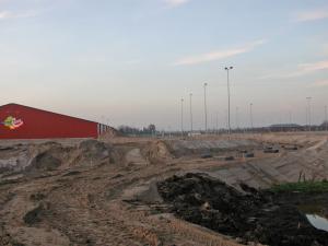 Panorama nieuwe velden (nov.2004)