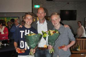 2014: Mathijs de Veer en Joep Renes, jeugd VvhJ