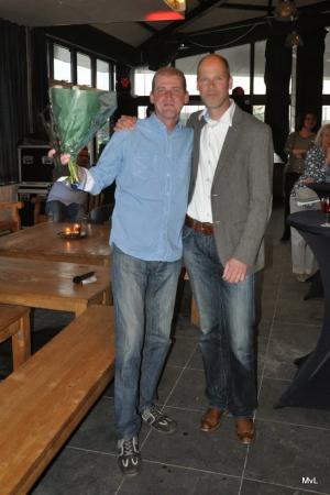 2014: Marcel Geerlof met Egon Coolen (2005 en 2018)