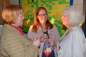 3 op een rij in 2015: Caroline Meijer, Sonja de Boer en Ada Kolff