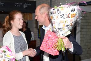 2015 Lisa de Boer - Jeugd vrijwilliger vh jaar