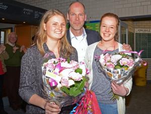 2015: Liza Markx en Lisa de Boer Jeugd VvhJ