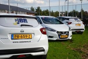 De nieuwe auto's voor H1 en D1: bedankt sponosrs!