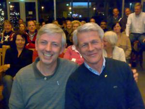 2009: Jörg Plönissen ere-lid, Joost van der Waa lid van verdienste
