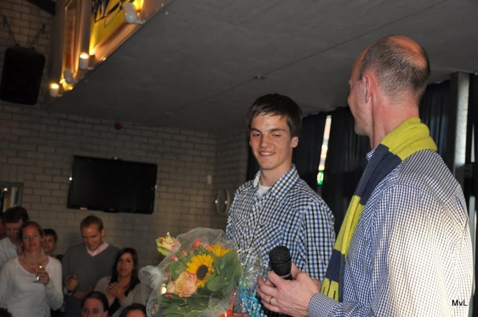 "2012: Liam Buissing ""kanjer van het jaar"" (jeugd vrijwilliger)"