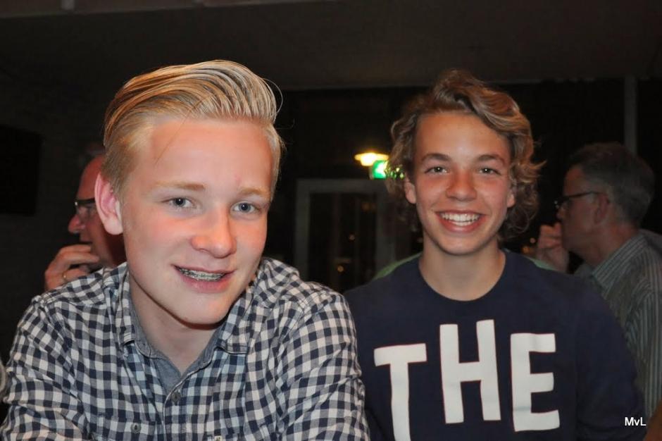 """2014: """"Junioren in het zonnetje"""": Joep Renes en Mathijs de Veer"""