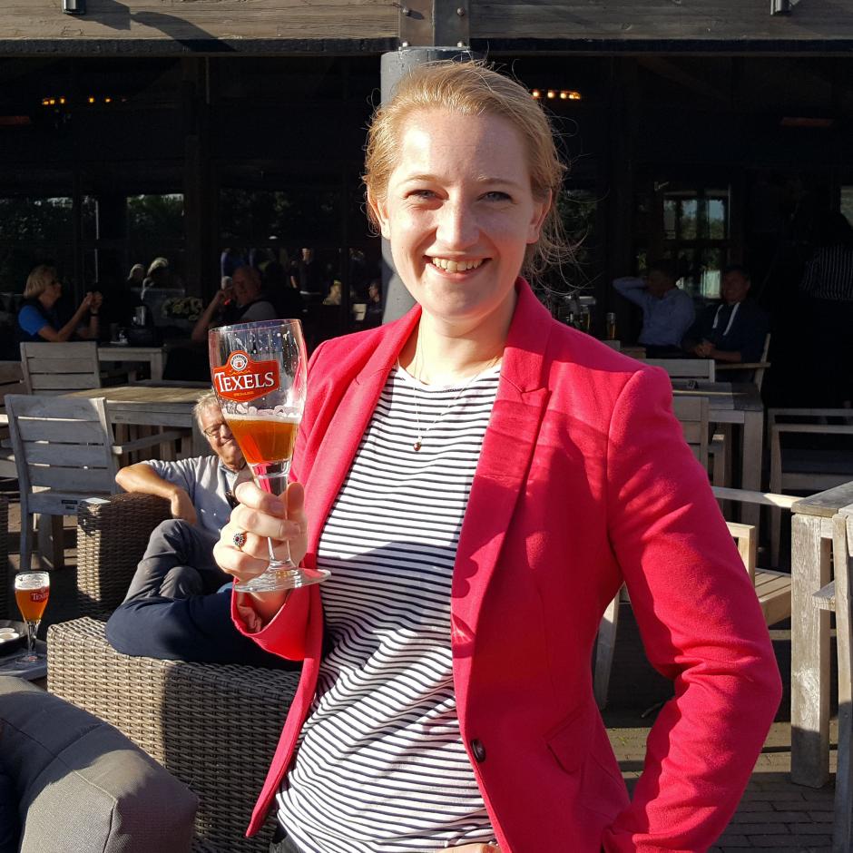 Elsbeth Meijer organisator HBR Open Golf toernooi
