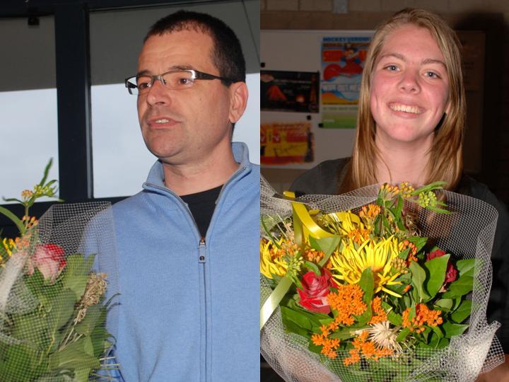2013: André van de Graaf en Fieke Uwland, vrijwilligers prijzen