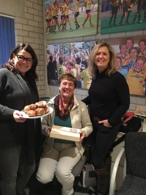 Annelies van Heusden: 25 jaar vrijwilliger