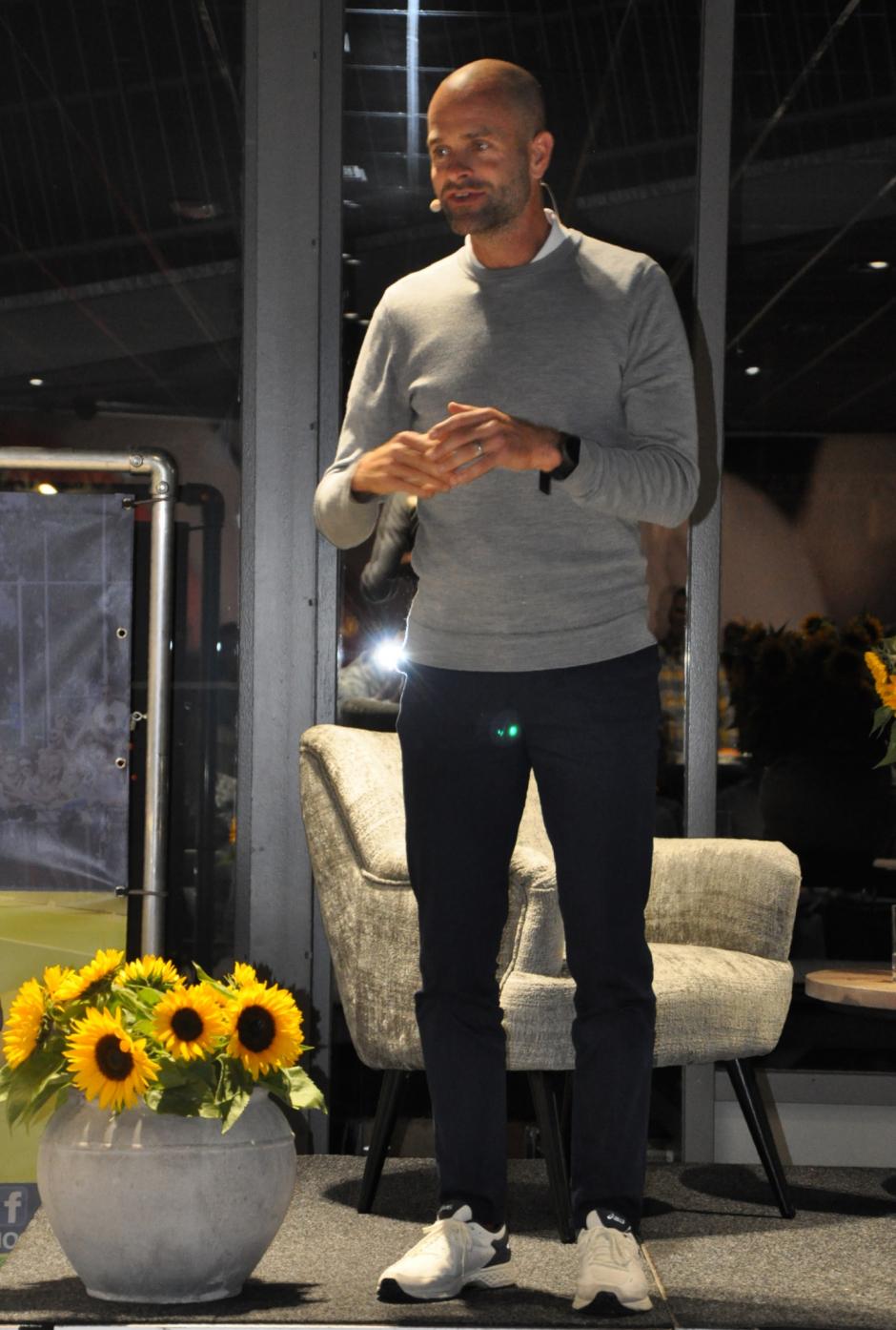 Erben Wennemars boeide zijn toehoorders met voorbeelden uit de praktijk