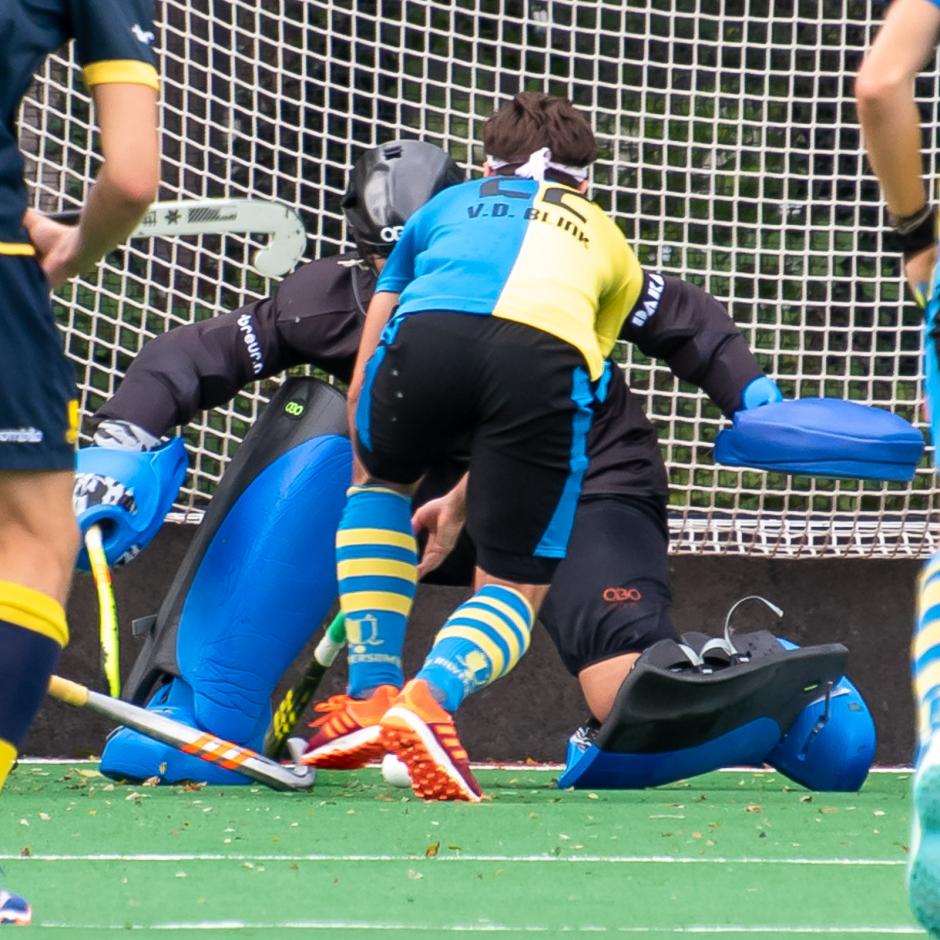 Roberto Broere blonk uit tegen Hilversum