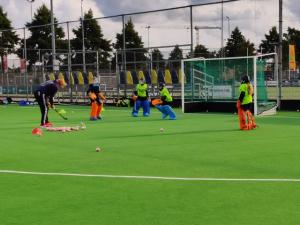 Goalies f1rst -keeperstrainingen gestart